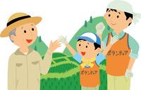 ボランティアを取り込むグリーンツーリズム 60008000496| 写真素材・ストックフォト・画像・イラスト素材|アマナイメージズ