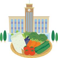 食を通じた学校法人と農業の連携