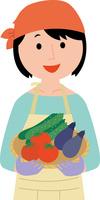 農業に従事する若い女性 60008000513| 写真素材・ストックフォト・画像・イラスト素材|アマナイメージズ