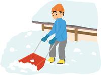 雪かき 60008000516| 写真素材・ストックフォト・画像・イラスト素材|アマナイメージズ