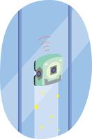 窓掃除ロボット
