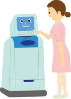 病院内自律搬送ロボット