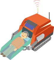 救出ロボット 60008000574| 写真素材・ストックフォト・画像・イラスト素材|アマナイメージズ