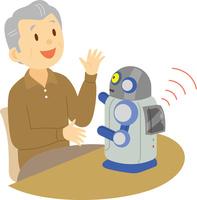 対話ロボット 60008000597| 写真素材・ストックフォト・画像・イラスト素材|アマナイメージズ