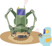 爆発物処理ロボット