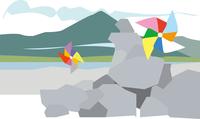 下北半島の恐山