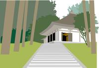 平泉の中尊寺金色堂