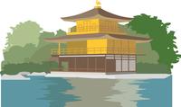京都の金閣寺 60009000050| 写真素材・ストックフォト・画像・イラスト素材|アマナイメージズ
