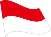 インドネシアの国旗