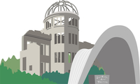 広島の原爆ドーム 60009000265| 写真素材・ストックフォト・画像・イラスト素材|アマナイメージズ