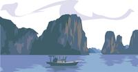 ベトナムのハロン湾 60009000305| 写真素材・ストックフォト・画像・イラスト素材|アマナイメージズ