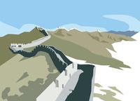 中国の万里の長城 60009000311| 写真素材・ストックフォト・画像・イラスト素材|アマナイメージズ