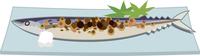 秋刀魚の塩焼き 60009000433| 写真素材・ストックフォト・画像・イラスト素材|アマナイメージズ