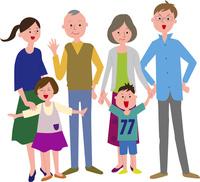 家族 60011000014| 写真素材・ストックフォト・画像・イラスト素材|アマナイメージズ