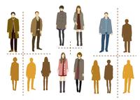 冬の装いイメージ