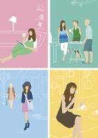 20歳代女性の休日 60013000089| 写真素材・ストックフォト・画像・イラスト素材|アマナイメージズ