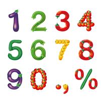 野菜文字_果菜類 60015000043| 写真素材・ストックフォト・画像・イラスト素材|アマナイメージズ