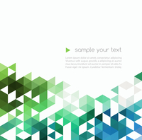 Abstract technology background with color triangle shapes. Vector illustration. 60016000064| 写真素材・ストックフォト・画像・イラスト素材|アマナイメージズ