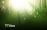 Circuit blue lights background. Vector illustration. 60016000756  写真素材・ストックフォト・画像・イラスト素材 アマナイメージズ