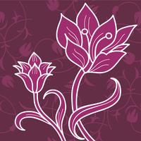 Floral ornament  60016000901| 写真素材・ストックフォト・画像・イラスト素材|アマナイメージズ