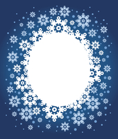 Christmas background with snowflakes  60016000921| 写真素材・ストックフォト・画像・イラスト素材|アマナイメージズ