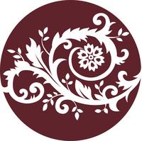 Floral ornament 60016000947| 写真素材・ストックフォト・画像・イラスト素材|アマナイメージズ