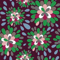 Abstract floral pattern 60016000976| 写真素材・ストックフォト・画像・イラスト素材|アマナイメージズ
