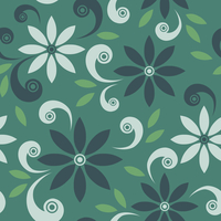 Floral pattern 60016000977| 写真素材・ストックフォト・画像・イラスト素材|アマナイメージズ