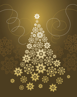 Background with Christmas tree  60016001004  写真素材・ストックフォト・画像・イラスト素材 アマナイメージズ