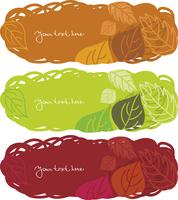 Horizontal autumn banners  60016001018| 写真素材・ストックフォト・画像・イラスト素材|アマナイメージズ