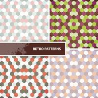 Set of retro patterns 60016001132| 写真素材・ストックフォト・画像・イラスト素材|アマナイメージズ
