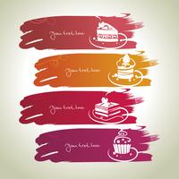 Sweet banners  60016001242| 写真素材・ストックフォト・画像・イラスト素材|アマナイメージズ
