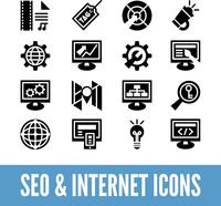 SEO and internet optimization icon set. Isolated vector illustration  60016001444| 写真素材・ストックフォト・画像・イラスト素材|アマナイメージズ