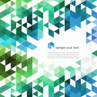 Abstract technology background with color triangle shapes. Vector illustration. 60016001514| 写真素材・ストックフォト・画像・イラスト素材|アマナイメージズ