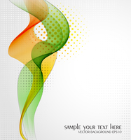 Vector illustration Abstract background with wave
