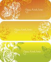 Flowers banners  60016001645  写真素材・ストックフォト・画像・イラスト素材 アマナイメージズ