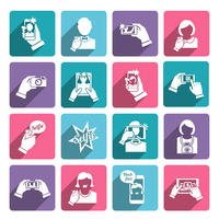Selfie self portrait taking smartphone camera technology flat icons collection set isolated vector illustration 60016001667| 写真素材・ストックフォト・画像・イラスト素材|アマナイメージズ