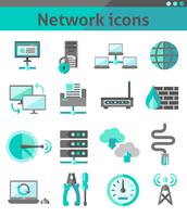 Network security internet communication icons set isolated vector illustration 60016001755| 写真素材・ストックフォト・画像・イラスト素材|アマナイメージズ