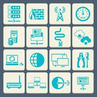Network data security web control technology flat button icons set isolated vector illustration 60016001759| 写真素材・ストックフォト・画像・イラスト素材|アマナイメージズ