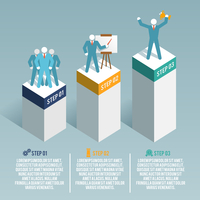 Leadership global organization partnership and group working infographic set vector illustration