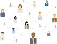 Social / Business network connecting (Diversity)