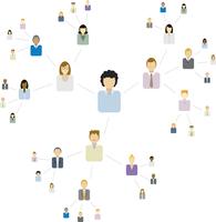 Viral Network / Communication 60016001945| 写真素材・ストックフォト・画像・イラスト素材|アマナイメージズ