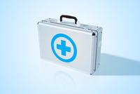 Medical bag background. Vector Illustration, eps 10, contains transparencies.