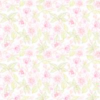 Seamless floral pattern. Vector illustration 60016002210| 写真素材・ストックフォト・画像・イラスト素材|アマナイメージズ