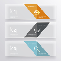 Set of glass banners.Can use to display information, ranking and statistics with orginal and modern style. 60016002534| 写真素材・ストックフォト・画像・イラスト素材|アマナイメージズ