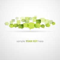 Vector illustration Speech bubble network background. EPS10 60016002774| 写真素材・ストックフォト・画像・イラスト素材|アマナイメージズ
