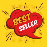 Best seller sale advertising promotion speech bubble vector illustration. 60016003060| 写真素材・ストックフォト・画像・イラスト素材|アマナイメージズ