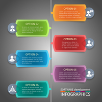 SEO mobile computer network website search optimization infographics design vector illustration
