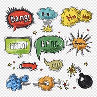 Comic speech bubble hand drawn design element symbol boom splash bomb vector illustration. 60016003760| 写真素材・ストックフォト・画像・イラスト素材|アマナイメージズ