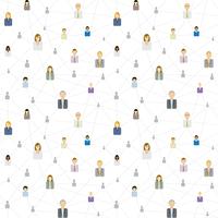 Seamless business social network pattern 60016003962| 写真素材・ストックフォト・画像・イラスト素材|アマナイメージズ
